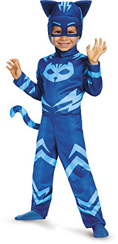 2t Costumes Halloween (Catboy Classic Toddler PJ Masks Costume, Small/2T)