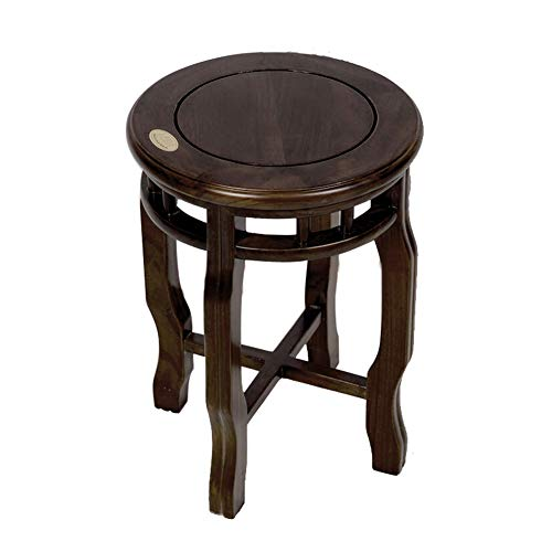 - Bedroom Padded Dressing Table Stool Dresser Vanity Stool Cream ZHANGQIANG (Color : Walnut Color, Size : 3245CM)