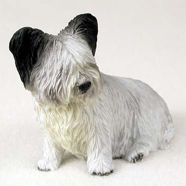 (Skye Terrier Dog Figurine (4-5