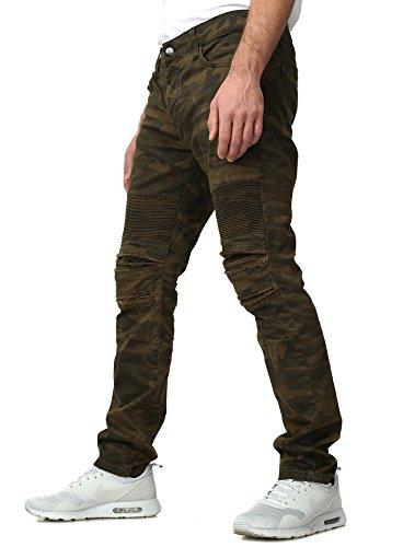 Taglio Distrutto Redbridge Vestibilità Uomo Soldier Slim Sguardo Mimetico Jeans qqgSXa