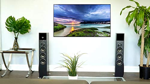 Rockville TM150B Black Home Theater System Tower Speakers 10'' Sub/Blueooth/USB by Rockville (Image #2)