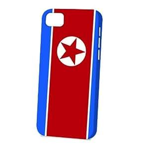 Case Fun Apple iPhone 5C Case - Vogue Version - 3D Full Wrap - Flag of North Korea