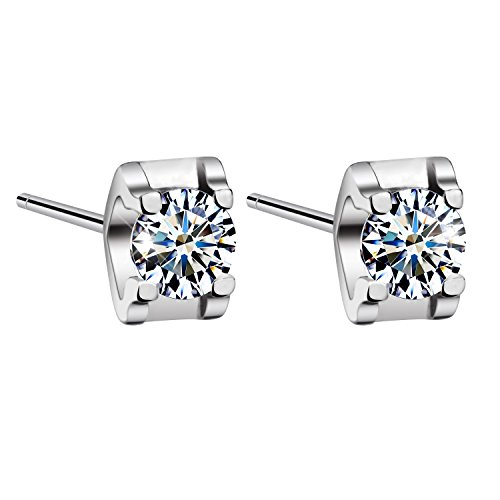 T400 Jewelers Sterling Swarovski Zirconia