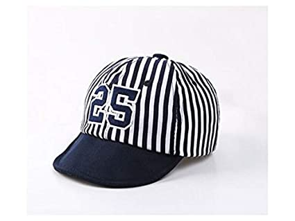 Amazon.com   Yuchoi Sun Number Toddler Stripe Baseball Cap Baby Sun  Protection Hat Sun Visor for 1-3 Years Old(Navy)   Beauty 8e0481427745