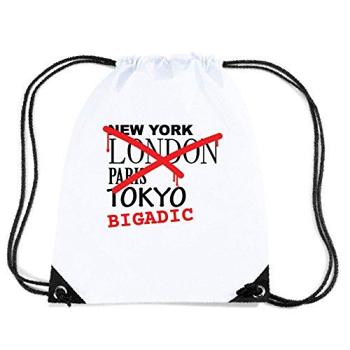 JOllify BIGADIC Turnbeutel Tasche GYM2864 Design: Graffiti Streetart New York