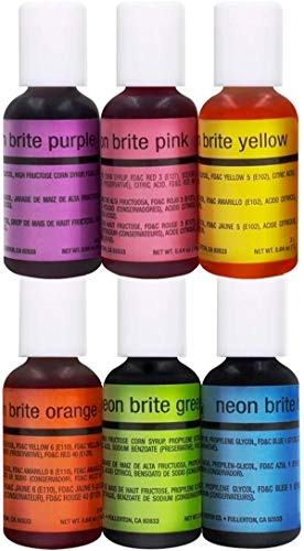 Chefmaster Neon Airbrush Kit
