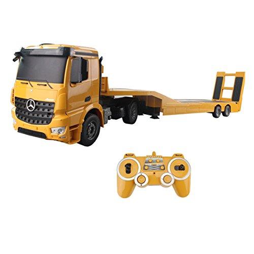 Remote Control Tractor Trailer Trucks : Compare price to rc semi and flatbed trailer