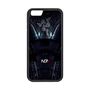 Cell Phone case Mass Effect Cover Custom Case For iPhone 6 Plus 5.5 Inch MK9R473022