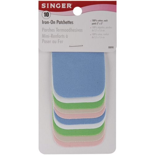 singer-2-inch-by-3-inch-iron-on-patches-light-assortment-10-per-package