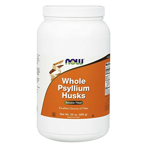 NOW Psyllium Husks Whole, 24-Ounce by NOW Foods