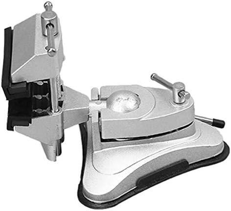 ベンチ バイス ホームバイス コンパクトバイス アルミ合金 360回転台 テーブル ラバーサクションベース