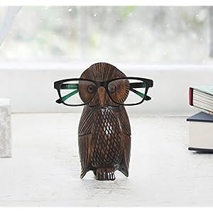 Store Indya Eyeglass Holder Eyeglasses Stand Spectacle Holder Stand Display Holder Stand Glasses Holder Owl Design Home Decor Accessories