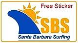Santa Barbara Surfing SBS Surf Fin Key and Screws