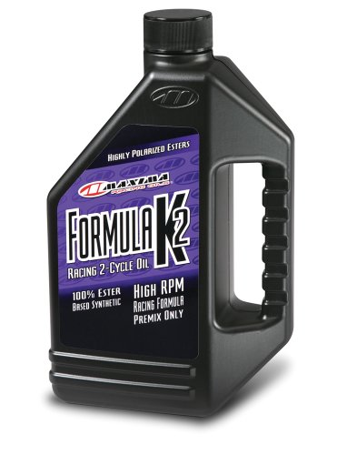 Maxima (22964) Formula K2 2-Stroke Synthetic Premix Racing Oil - 64 oz.