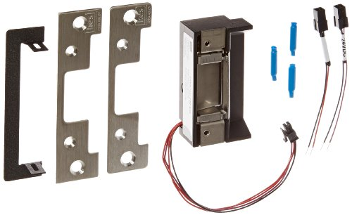 HES 10190403 5000 Series Low Profile Solution for Cylindrical Locksets, Grade 1, 12/24V DC/VAC