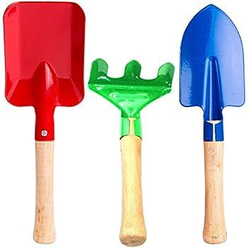 Spade & Shovel Mini Pink Shovel Garden Tools Gardening Tools Metal Iron Small Shovel Hardware Planting Tools Children Toy