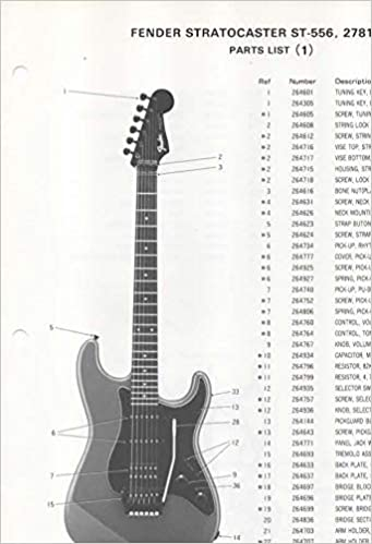 Fabulous Parts List Diagram For Fender Stratocaster St 556 Electric Guitar Wiring Cloud Hisonuggs Outletorg