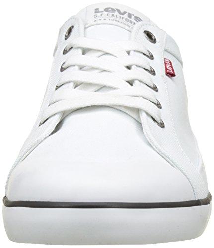 Venice Blanc Sneaker Levis Herren Weiß 5axqw4xFT