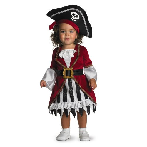 Disguise Infant Costume Pirate Princess, 12-18 Months (Baby Costumes Girl)