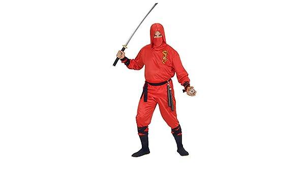 WIDMANN - Disfraz de Ninja Dragon Talla m: Amazon.es ...