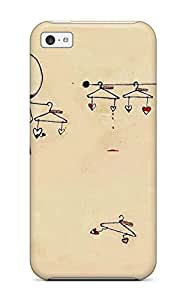 Pretty Iphone 5c Case Cover/ Love Series High Quality Case