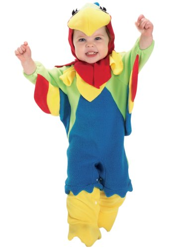 [Baby Boys' Parrot Costume Newborn (Sizes 0-9)] (Parrot Halloween Costumes Baby)