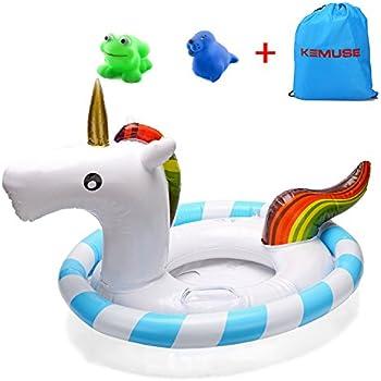 Amazon Com Inflatable Float Swimming Aids Pool Unicorn