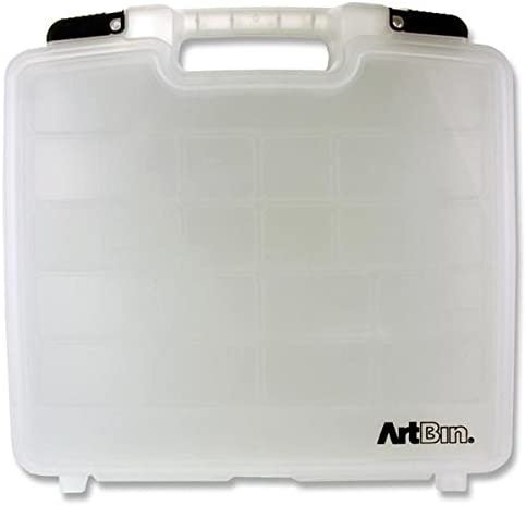 Artbin - Estuche de Almacenamiento para Manualidades (tamaño Grande, 38,1 x 35,5 cm): Amazon.es: Hogar