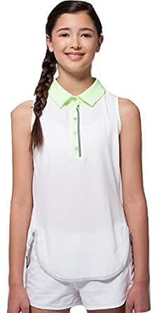 Amazon.com: Ivivva by Lululemon White / Green Girls Tank