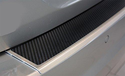 WGS-Shop Nissan Qashqai J11 B ab2017 Set Ladekantenschutz Einstiegsleisten Carbon AluNox/® 2123-803