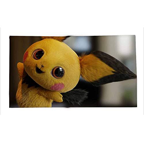Yloveme Throw Blanket Detective Pikachu Movie Fanart All Season Blanket for Bed 70