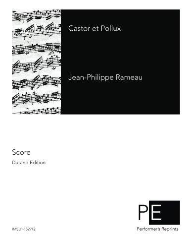 Castor et Pollux (French Edition) by CreateSpace Independent Publishing Platform