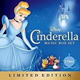 Disney Cinderella Music Box Set 3 Disc LIMITED EDITION SET 2 CD / 1 DVD (Tangled Ever After Short) by Unknown (0100-01-01?