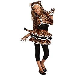 Rubie's Drama Queens Tigress Hoodie Costume, Large