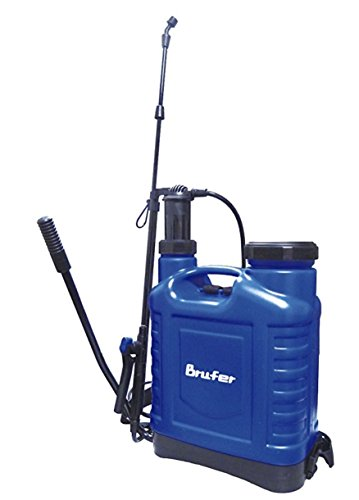 BRUFER 72012 Backpack Sprayer 4.2 Gallon (16L) Knapsack Sprayer for Garden Lawn Yard Farm and more (4.2 Gallon) by BRUFER Quality Products