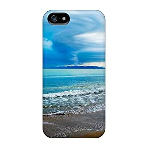 Chuxia Snap On Hard Case Cover Seascape Beach Protector For Iphone 5/5s