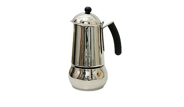Bialetti Class 6 Tazas Negro Espresso eléctrica Acero Inoxidable ...