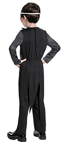UHC Boys Jack Skellington Outfit Nightmare Before Christmas Theme Party Costume