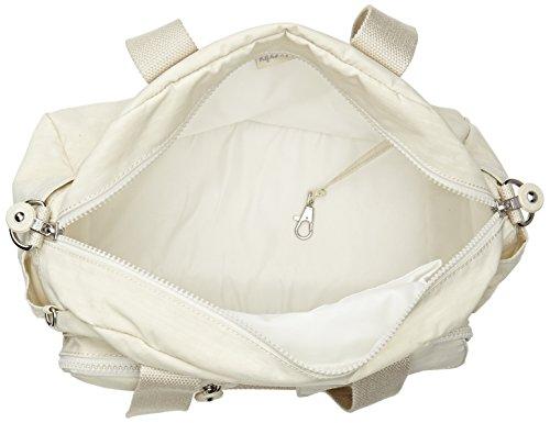 Kipling K13636637 - Bolso de asas para mujer Hueso (Dazz Cream)