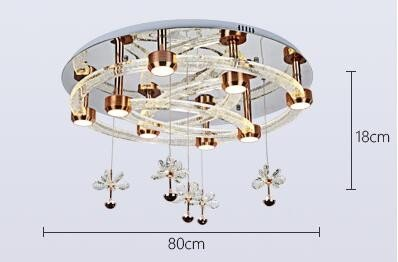 Amazon.com: Modern LED Ceiling Light Fixtures Crystal ...