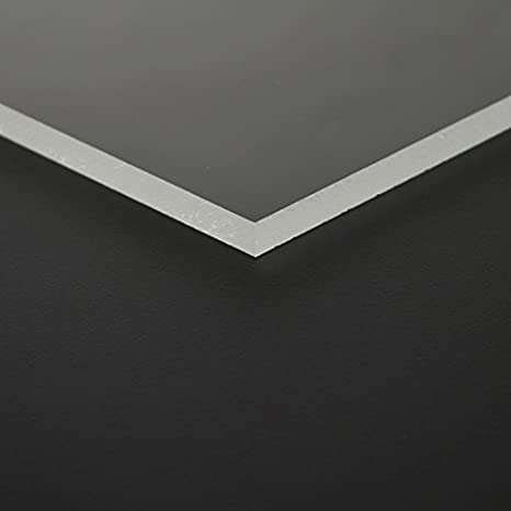 2mm MAKROLON/® transparent UV 2099 Platte 50x25 cm