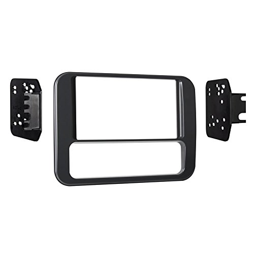 Firebird Radio - Metra 95-3312G Double DIN Dash Kit for Select 1993-2002 Pontiac Firebird Vehicles (Black)