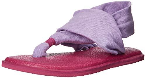 - Sanuk Kids Girls' Lil Yoga Sling 2 Sandal, Lavender, 11/12 M US Little Kid