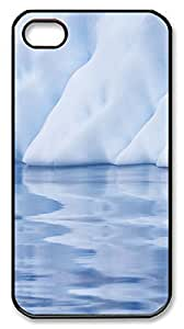 iPhone 4S CaseInteresting Ice Reflection PC Custom iPhone 4/4S Case Cover Black