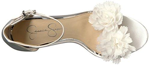 Heeled Sandal White Jessica Jeena Simpson Women's ptgn4