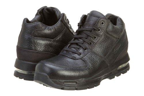 Nike Air Max Goadome Little Kids Style Shoes 311568, Black/Black-Metallic Silver, 13