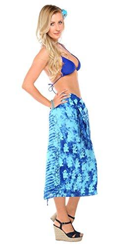 Sarongs maillot World Sarong Motif De Éléphants Avec Bain Et Bleu Cache Pour Femmes 1 Turquoise 6xaxqwF5