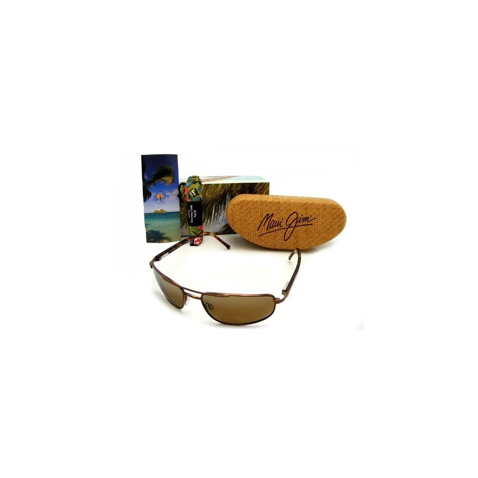 Maui Jim Kahuna Sunglasses Metal Gloss Copper / HCL Bronze