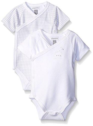 absorba Unisex Baby Star Print Footie