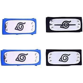 Amazon.com: Atenia Naruto Cosplay Headband, Naruto Costume ...